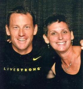 Anne Lynn and Lance Armstrong