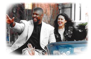Reggie and Sara White