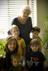 Miss Martha, Our Favorite Grandma